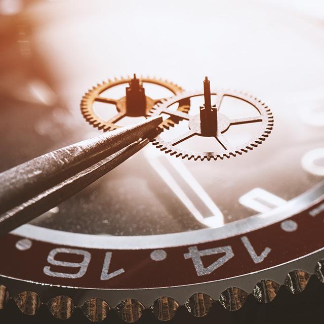Uhrenlexikon – Goldschmiede Juwelier am Schloss in Schwetzingen